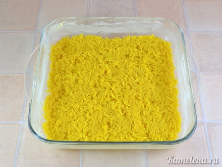 Запеканка с фаршем и рисом — 10 шаг