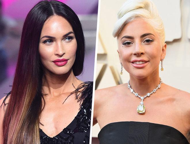 Меган Фокс и Леди Гага фото