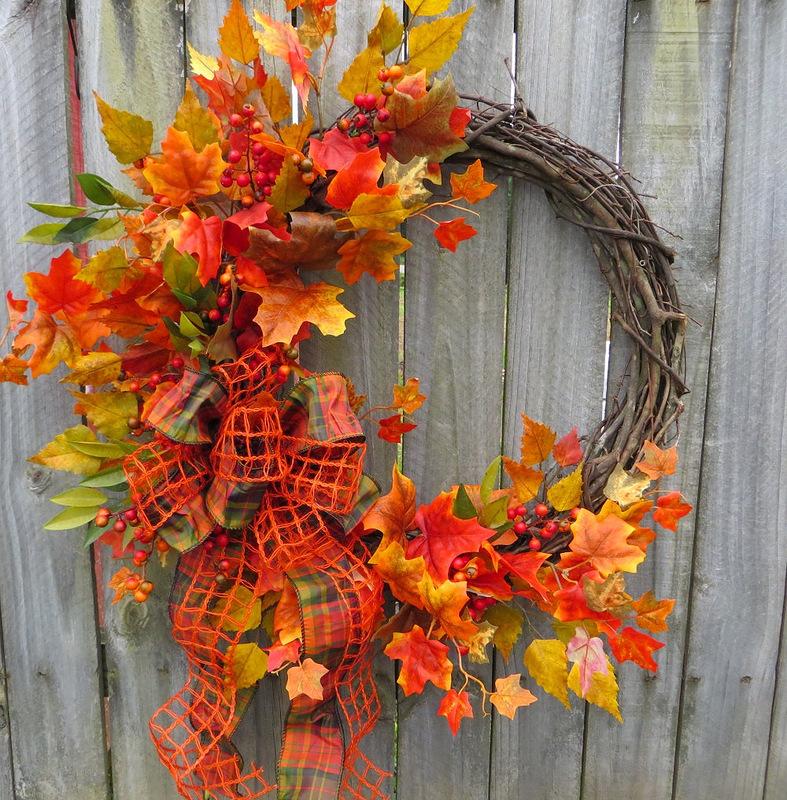 Картинки с поделками на осень