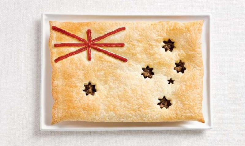 australia 700x476 Вкусные флаги мира