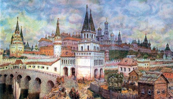 А как жили в России в начале XYII века?