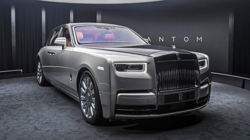 Rolls-Royce Phantom нового поколения. Самый роскошный автомобиль в мире