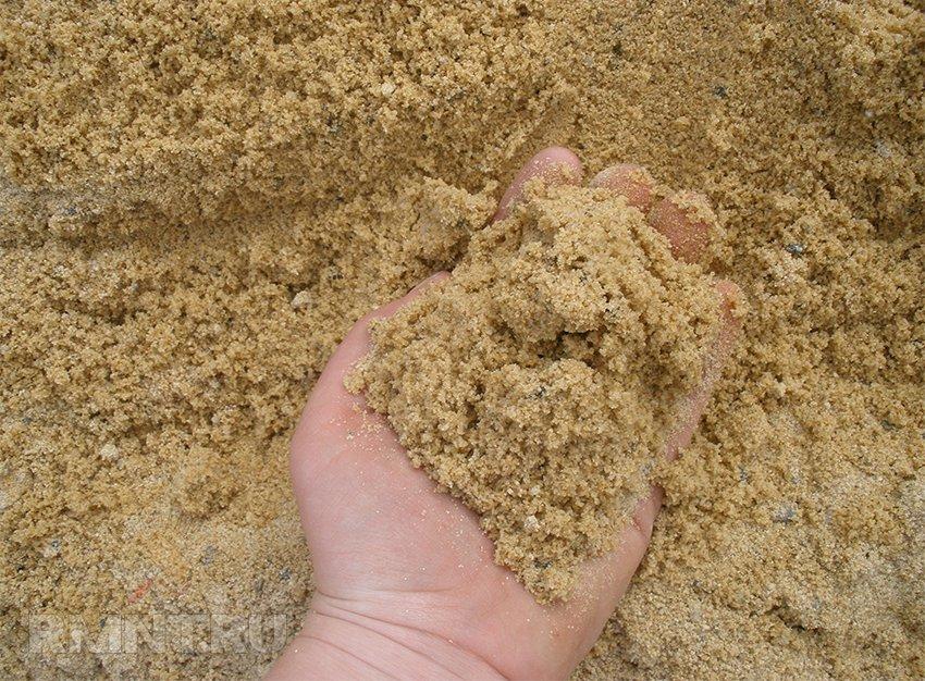 Песок для пляжа на участке