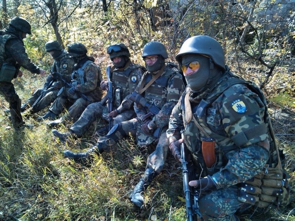 Боевики «Азова» осуществили обстрел КПВВ «Горловка» и «Майорск»