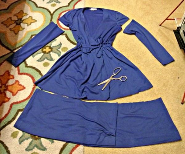 Превращение одежды из секонд-хенда в эксклюзивные наряды (52 фото)