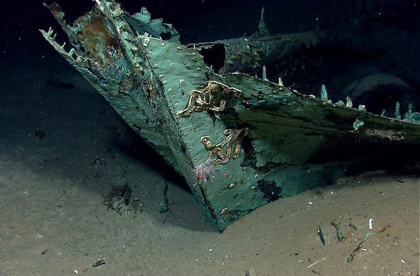 Один из самых старых затонувших кораблей найден в Черном море