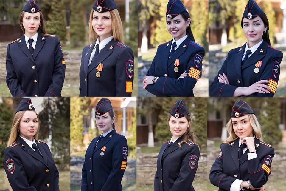 Участницы конкурса. Фото: РЮИ МВД России.