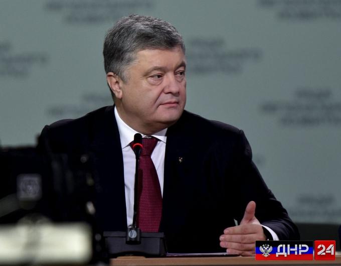 Порошенко: Россия разместила в ДНР и ЛНР больше танков, чем есть у бундесвера