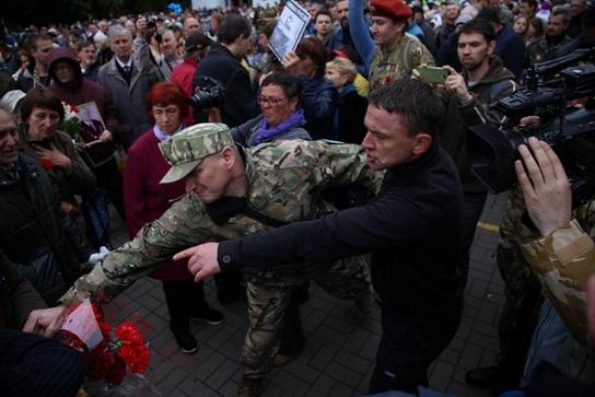 За украинскую ленточку в России не бьют!