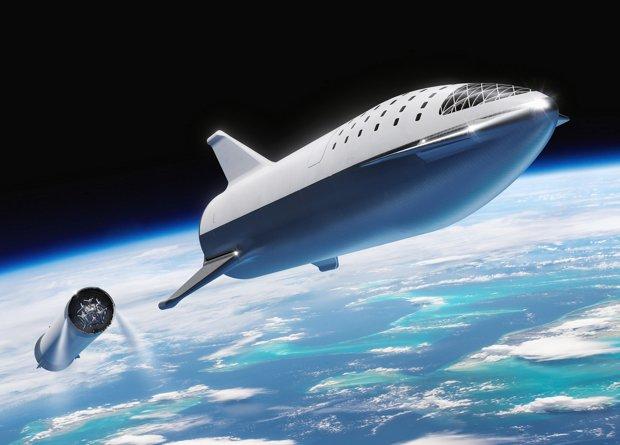 Сверхтяжелая ракета BFR получит активную систему охлаждения жидким топливом