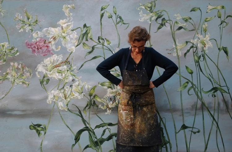 Цветочный рай: дом-студия французской художницы Клер Баслер