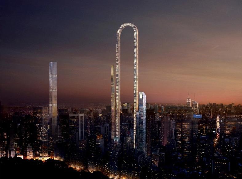 Во загнули! В Нью-Йорке собираются строить самый длинный небоскреб в мире