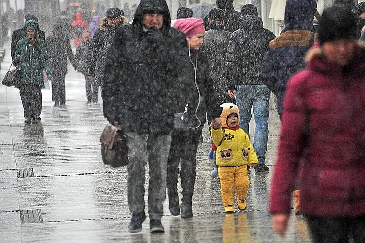 В Москве объявлен «желтый» уровень погодной опасности на 13 декабря