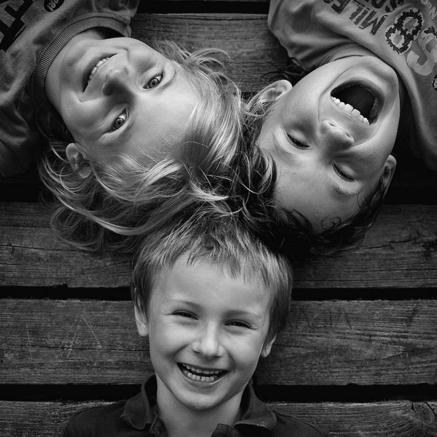 Правильные семейные фотографии