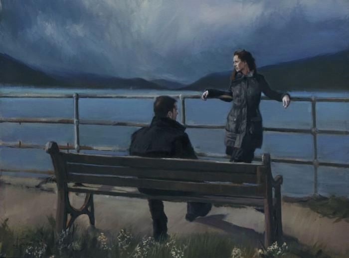 Британский художник. Kevin Day