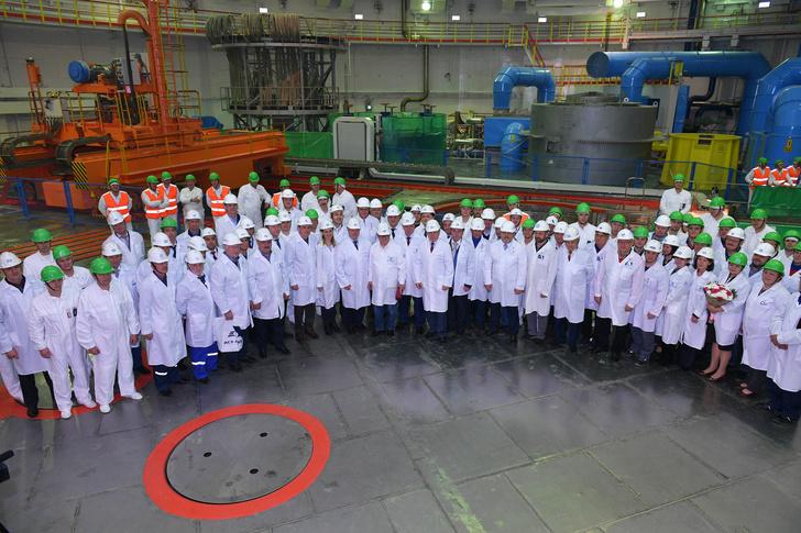 На Ростовской АЭС начался физический пуск энергоблока №4