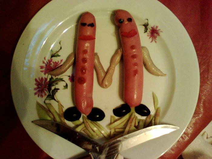 Необычное оформление блюд (ПРОДОЛЖЕНИЕ)