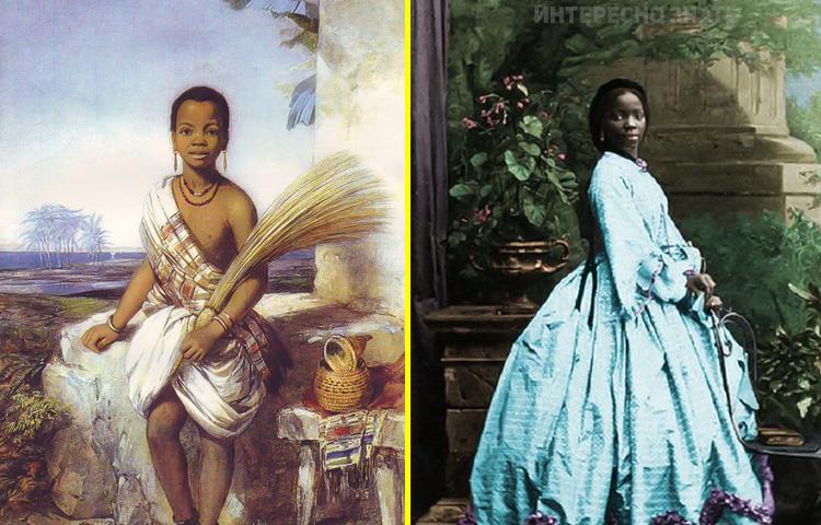 Уникальная история африканской девочки, ставшей крестницей королевы Виктории