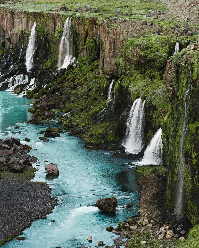Исландия сверху: захватывающие воздушные снимки одной из самых фантастических стран