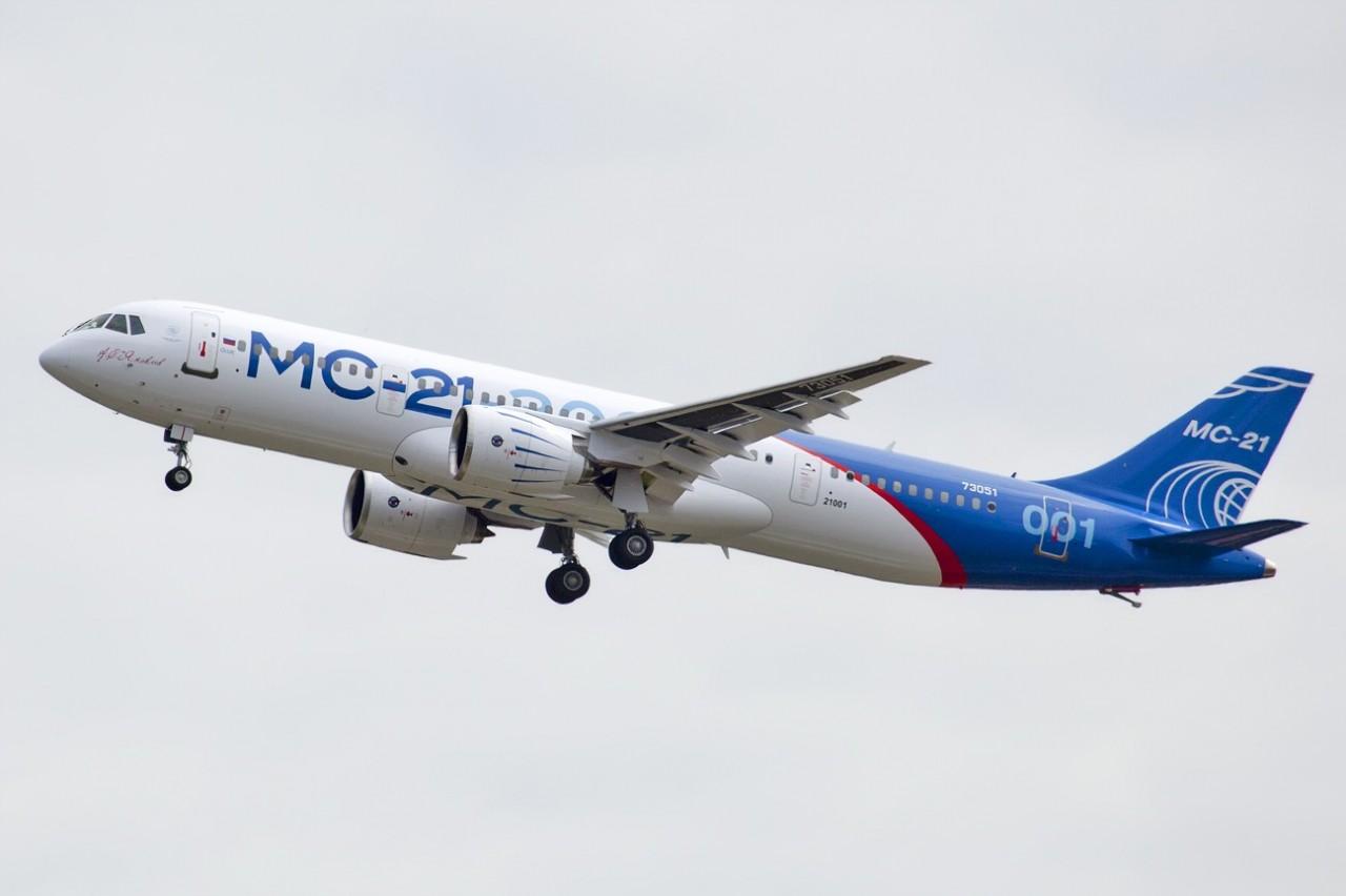 Общее число заказов на самолёт МС-21-300 составляет 315 ВС