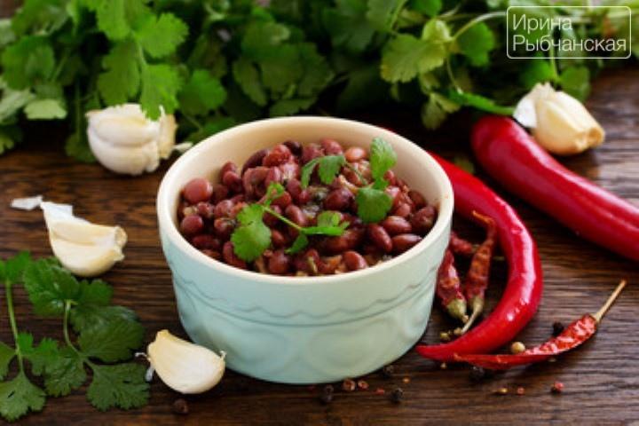 Классический рецепт лобио из фасоли — идеален для постного меню