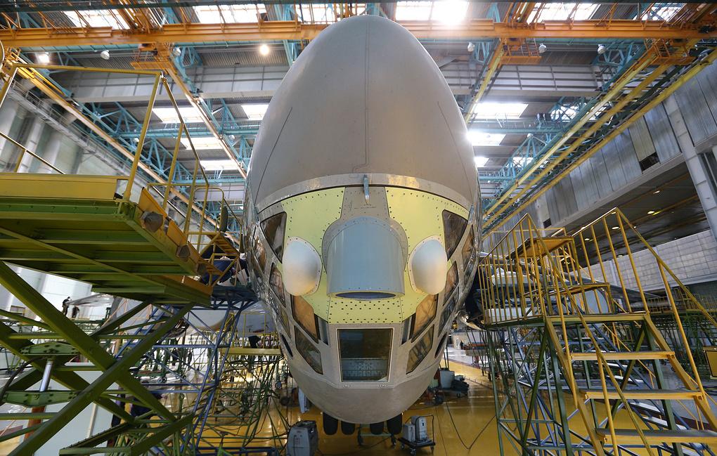 В Воронеже приступили к строительству модернизированного Ил-96