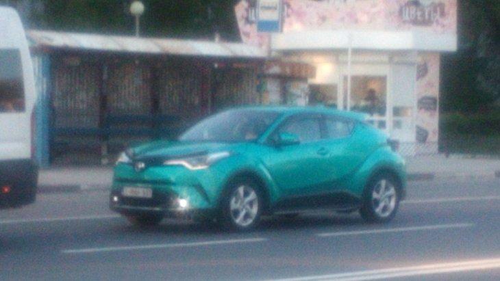 Кроссовер Toyota C-HR в Тольятти: к чему бы это?