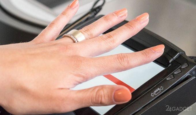 Многофункциональное биометрическое кольцо Token