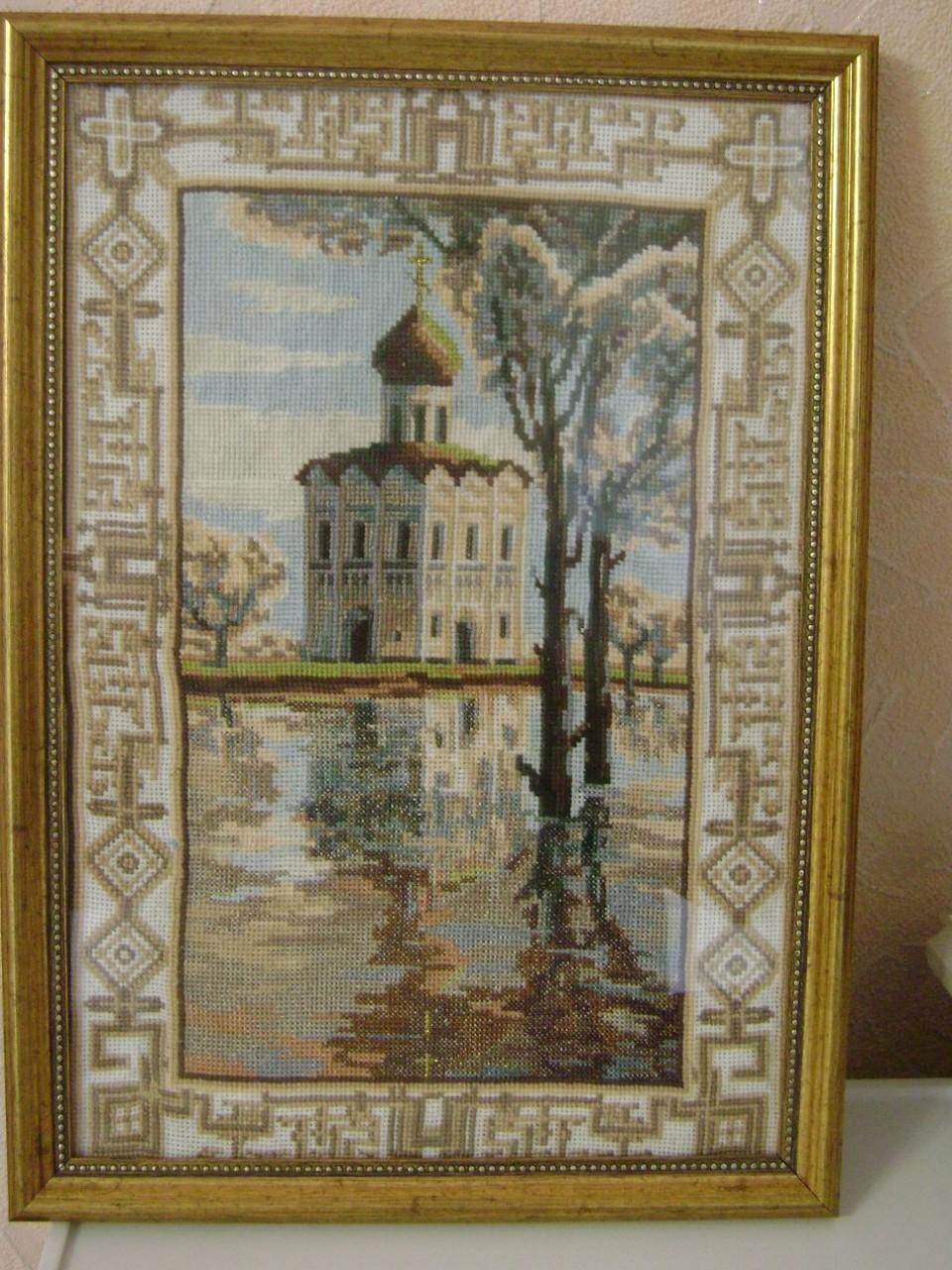 Покровский монастырь вышивка