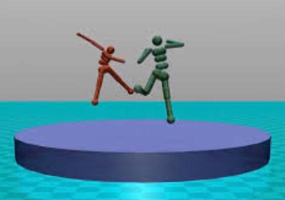 Искусственный интеллект обучил виртуальные модели навыкам сумо и футбола