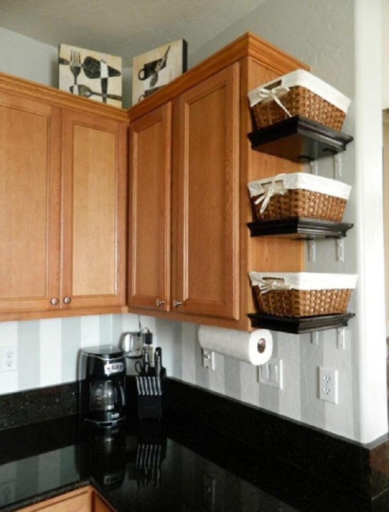 Кухонные шкафы своими руками для маленькой кухни
