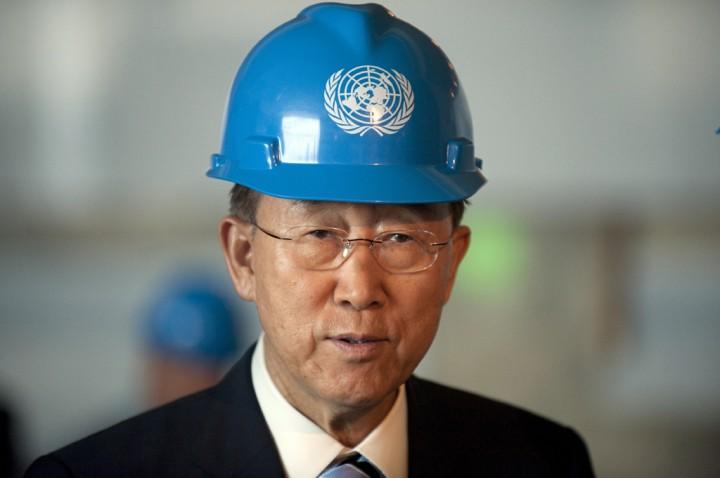 Генсек ООН призвал США уважать право на собрания и свободу слова