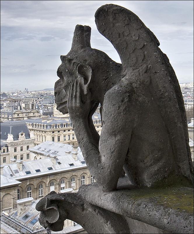 Богоматерь ушла из Парижа… (откровения горгульи)