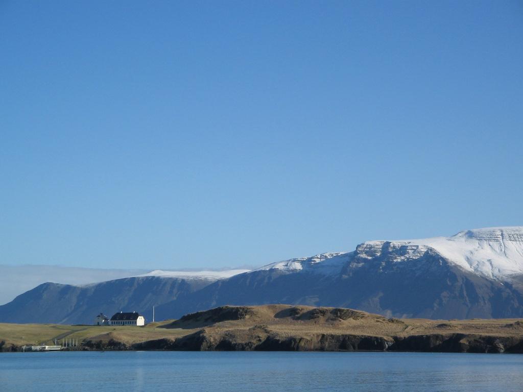 МИР ВОКРУГ. Достопримечательности Исландии. Остров Видей