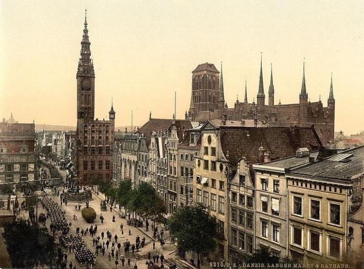 Вольный город Данциг как одна из причин польско-германского противостояния 1939 года.