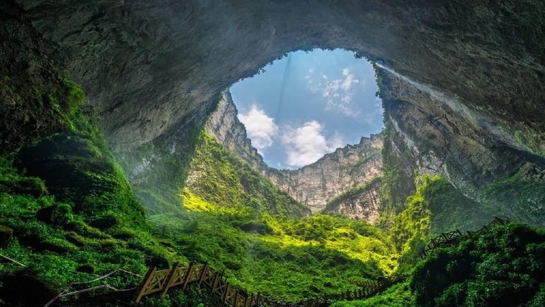 Небесная яма в Китае