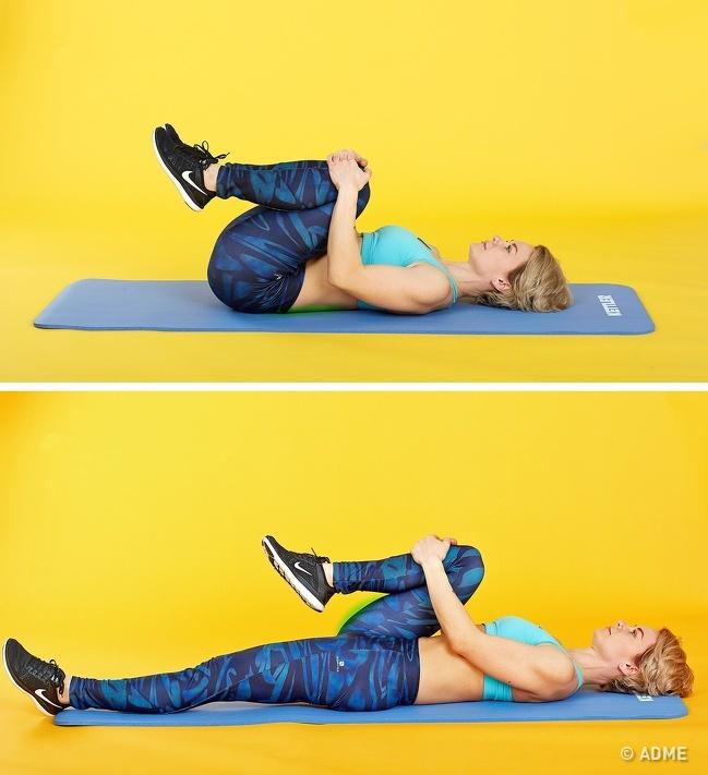 Будем здоровы — лучшее упражнение на растяжку поясницы