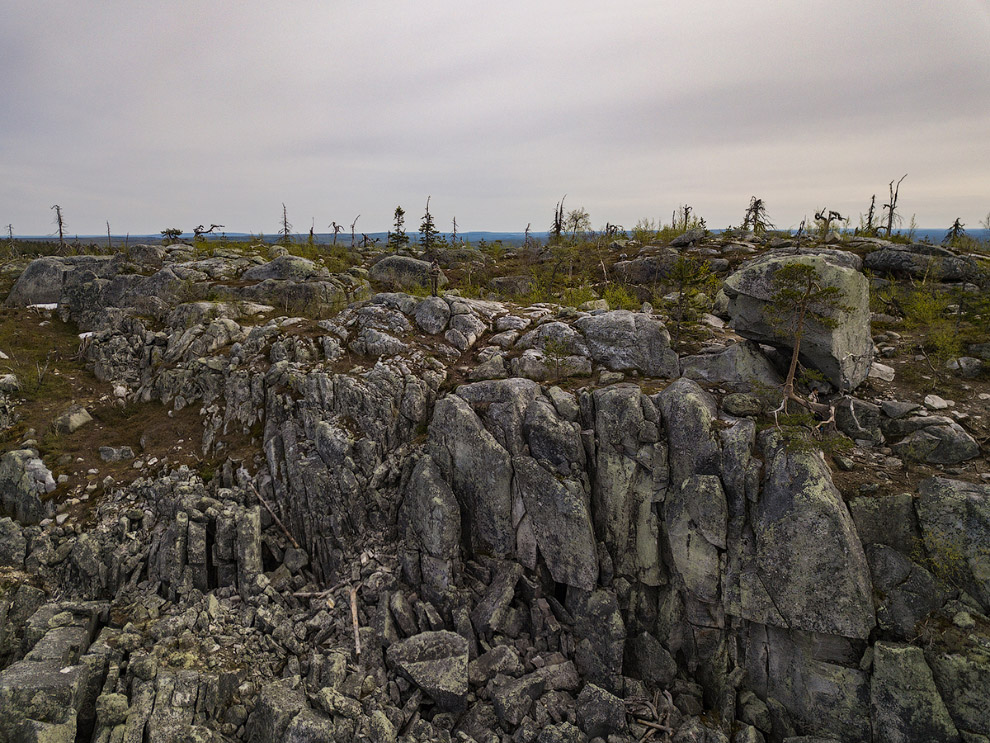 Загадочная гора Воттоваара в Карелии