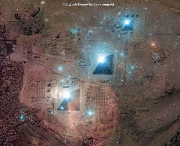 Пирамиды Ориона