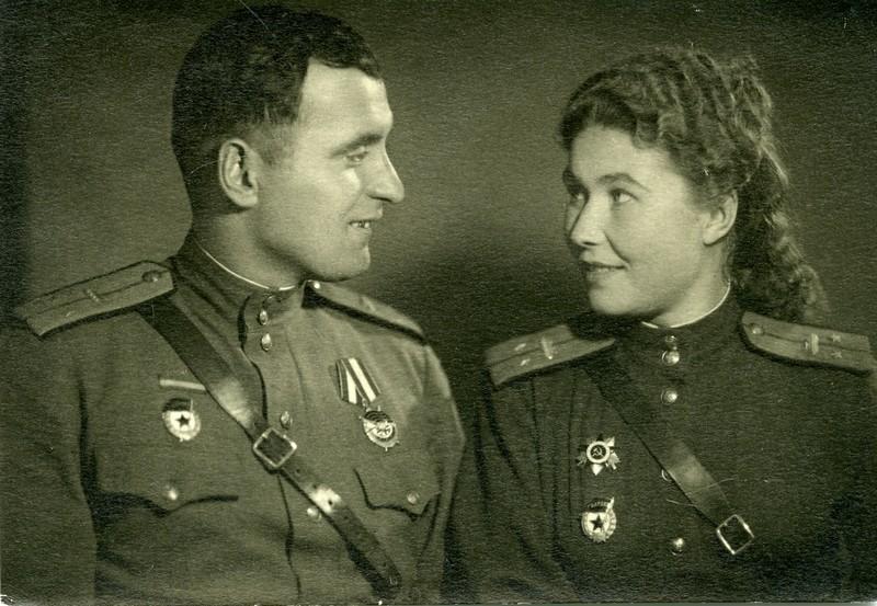 Бойко Иван Федорович и Александра Леонтьевна. ВОВ 1941-1945, Женщины на войне, танк, танкисты.