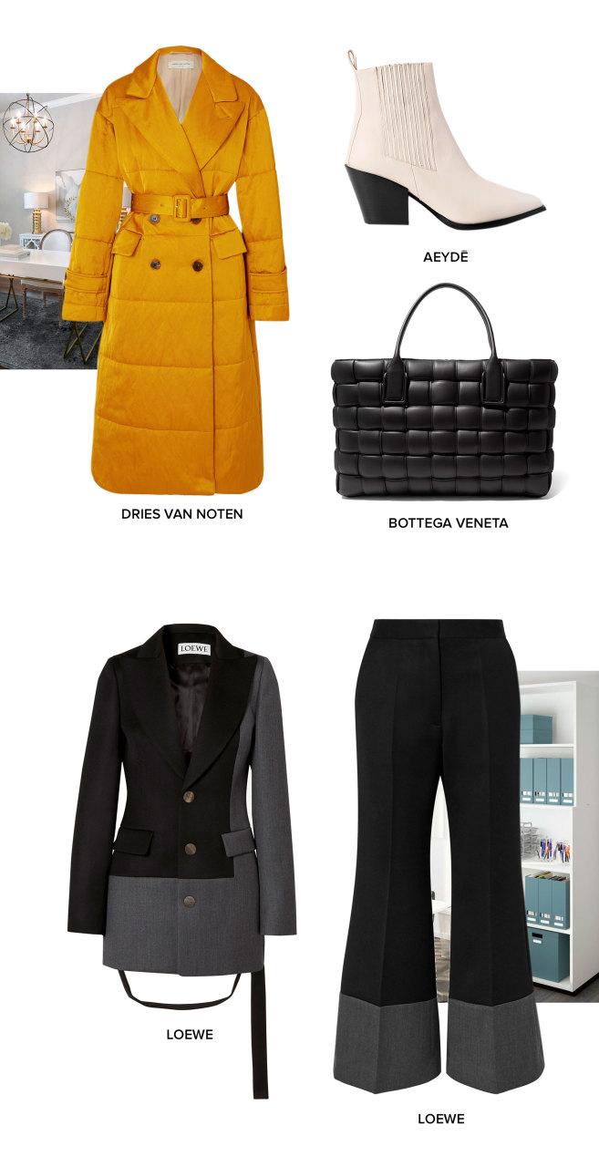 3 примера: Как стильно и одновременно тепло одеться в офис зимой