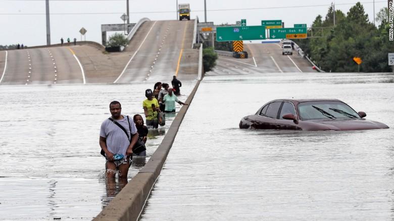 В США прошел ураган «Харви» — самый разрушительный за 12 лет