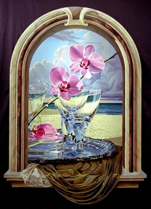 Сюрреалистические натюрморты Jeffrey G. Batchelor