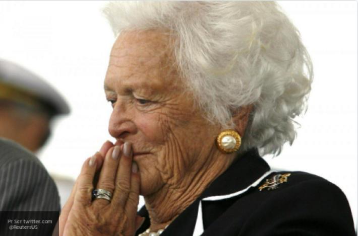 В США прошла церемония прощания с экс-первой леди Барбарой Буш
