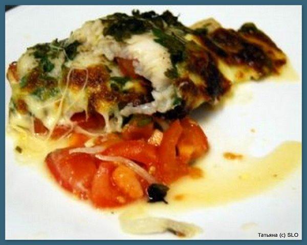 запеченное рыбье филе по Словенскому рецепту