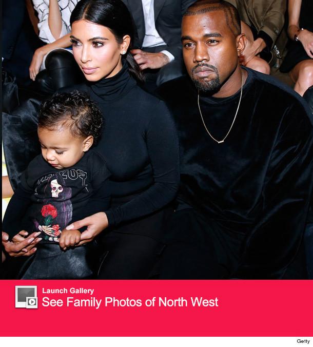 North West Makes Fashion Week Debut -- with Mom Kim Kardashian!
