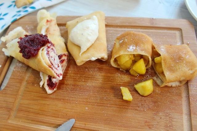 6 необычных начинок для блинов. 3 сладких и 3 несладких начинки Еда, Видео рецепт, Рецепт, Блины, Масленица, Длиннопост, Завтрак, Видео, Начинка