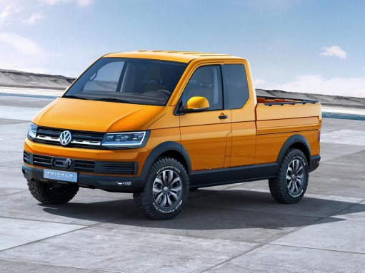 Пикап Volkswagen Tristar предвестил Transporter T6