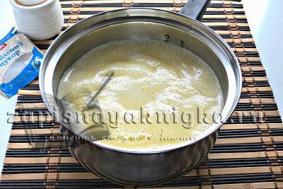 Соль изюм ваниль в опару