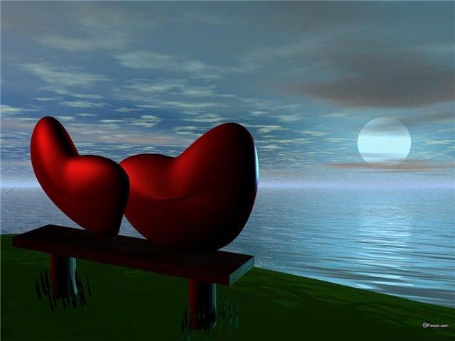 Расстояние между сердцами
